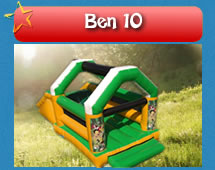 Ben 10 Jumping Castle for hire