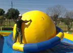 New game inflatable