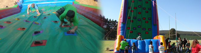 Inflatables Climbing Wall